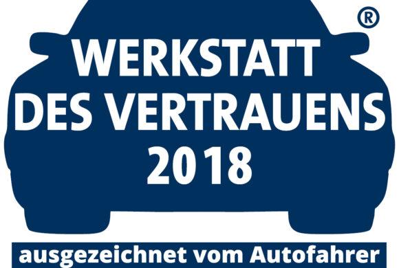 Werkstatt des Vertrauens 2018!